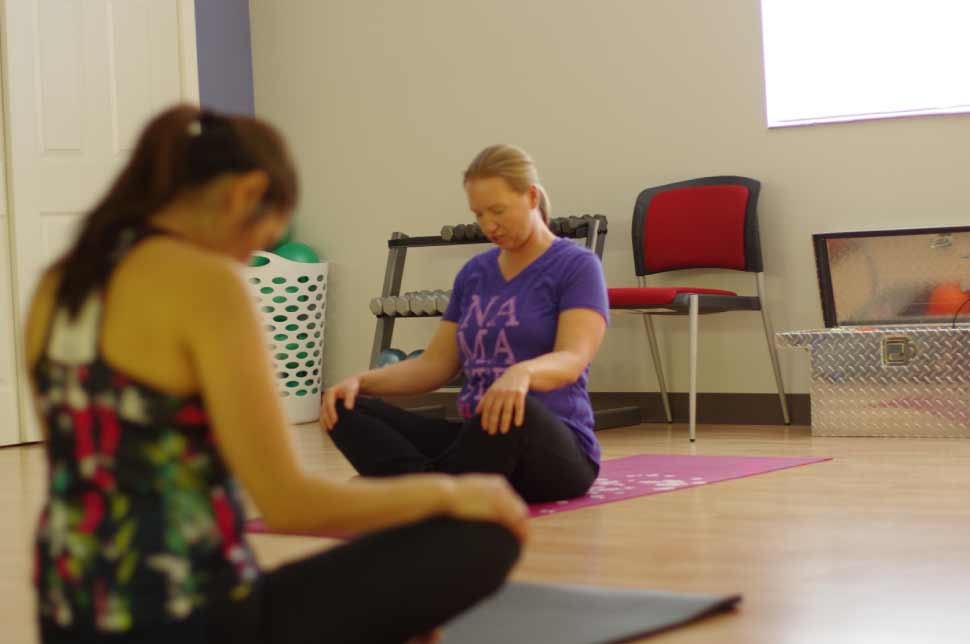 Yoga classes at FitnessWorks, Inc