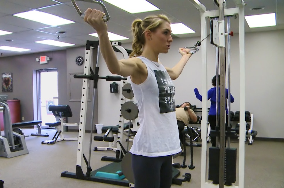 Personal training at FitnessWorks, Inc
