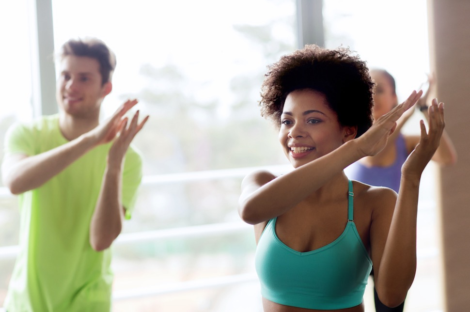Zumba classes at FitnessWorks, Inc